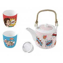 Zestaw do herbaty Pop Art