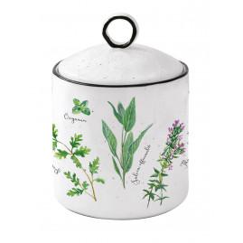 Pojemnik porcelanowy Herbarium duży
