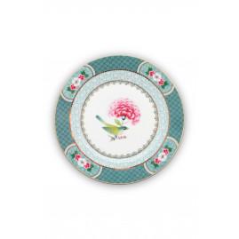 talerz deserowy w kwiaty Blushing Birds PiP Studio