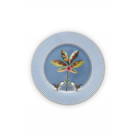 Talerz deserowy La Majorelle Blue PiP Studio 17 cm