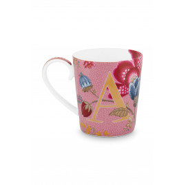 "Kubek porcelanowy Floral Fantasy Pink ""A"""