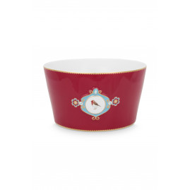 Miska Love Birds Medallion Red