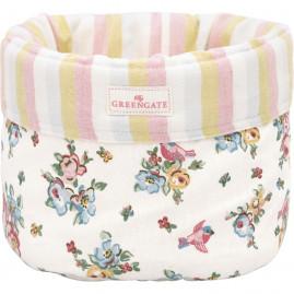 Koszyk na pieczywo w kwiaty