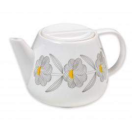 Dzbanek do herbaty w kwiaty