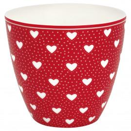 Kubek latte Penny Red Green Gate, 250 ml