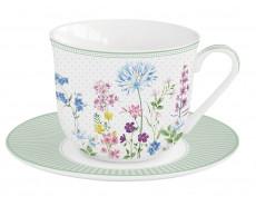 Filiżanka porcelanowa Floraison