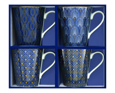 Kubki porcelanowe Coffeemania Art Deco