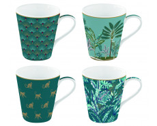 Kubki porcelanowe Coffeemania Jungle