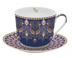Duża filiżanka porcelanowa Peacock
