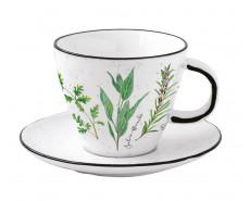 Filiżanka porcelanowa Herbarium