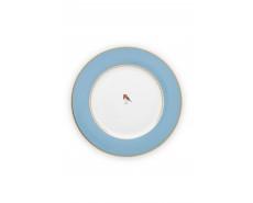 Talerz obiadowy Love Birds Blue 26,5 cm