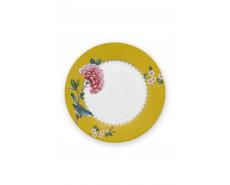 Talerz deserowy Blushing Birds Yellow Pink PiP Studio
