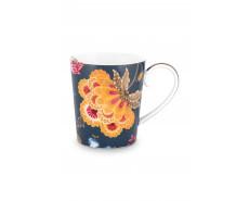 """Kubek porcelanowy Floral Fantasy Blue """"D"""""""
