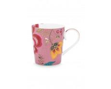 "Kubek porcelanowy Floral Fantasy Pink ""G"""