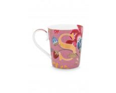 "Kubek porcelanowy Floral Fantasy Pink ""S"""