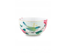 Miseczka M Blushing Birds White 12 cm