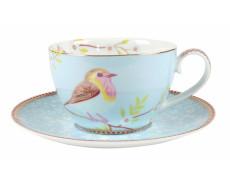 Filiżanka porcelanowa z ptaszkiem PiP Studio