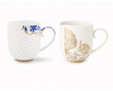 eleganckie kubki porcelanowe PiP Studio
