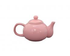dzbanek do herbaty rózowy