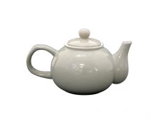 dzbanek do herbaty jasnoszary