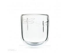 szklanka z ważką libellules