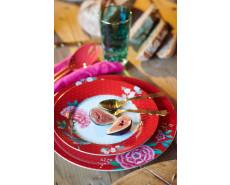 talerz deserowy w kwiaty PiP Studio