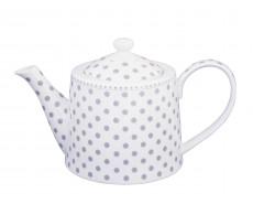Dzbanek do herbaty w kropki