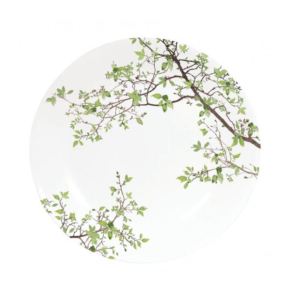 Talerz porcelanowy natura