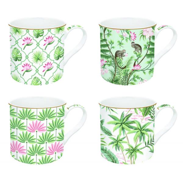 Kubki porcelanowe Coffeemania Wild Tropical