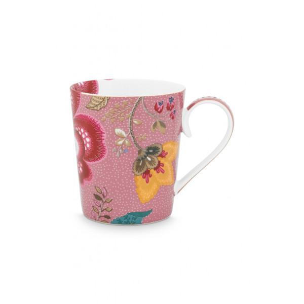 "Kubek porcelanowy Floral Fantasy Pink ""M"""