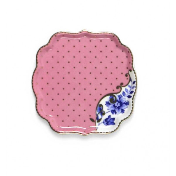 Talerzyk na herbatę Royal Pink