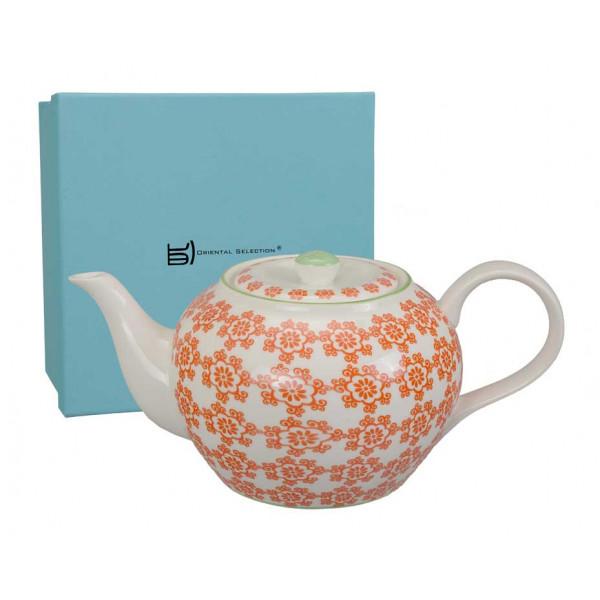 Dzbanek do herbaty orange
