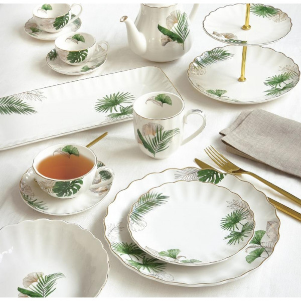 elegancka zastawa stołowa  Exotique