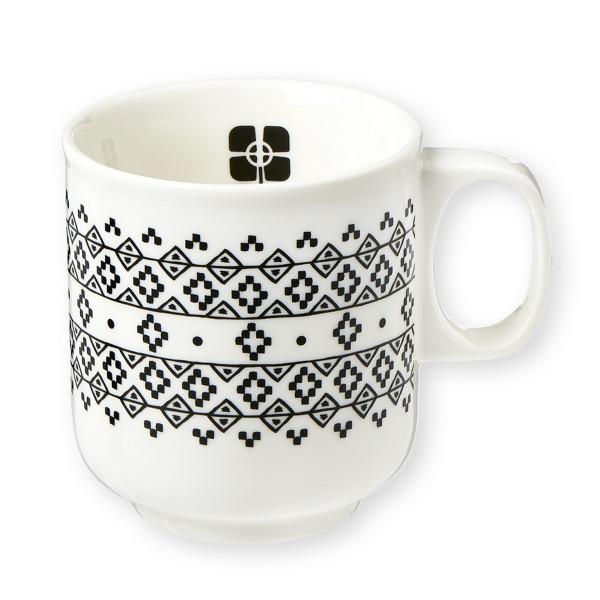 Kubek porcelanowy Black Geometrics