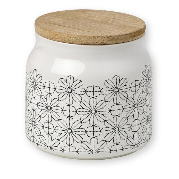 pojemnik porcelanowy z pokrywką