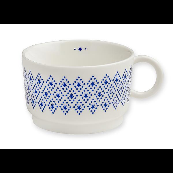 Filiżanka porcelanowa Blue Geometrics