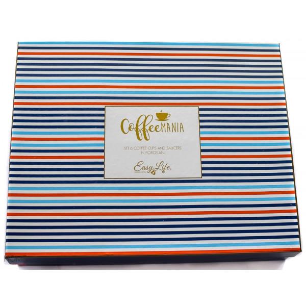 Filiżanki do espresso Coffeemania Bord gift box
