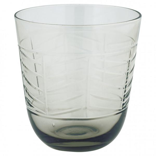 Szklanka szara Grey w/cutting