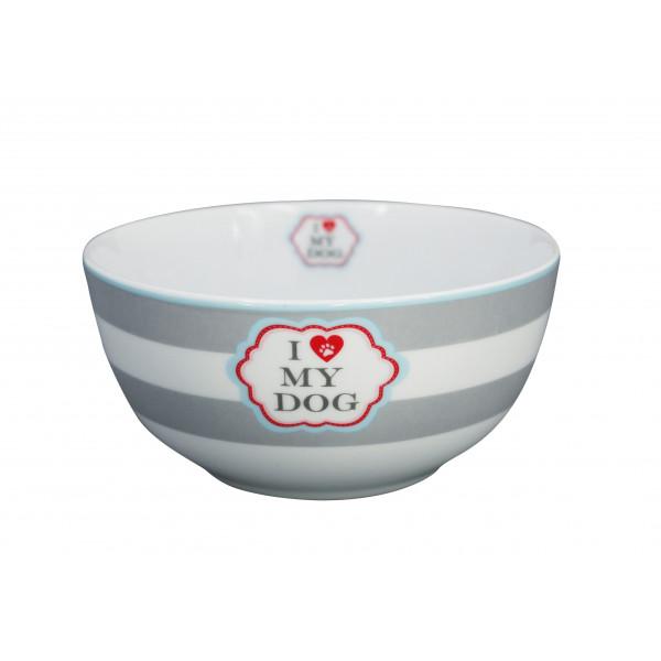 Miseczka porcelanowa I Love my Dog