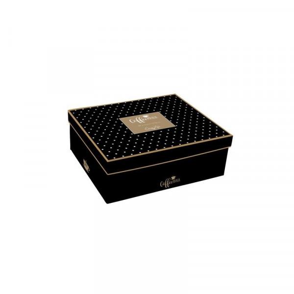 Filiżanki do espresso Coffeemania Black Gift Box