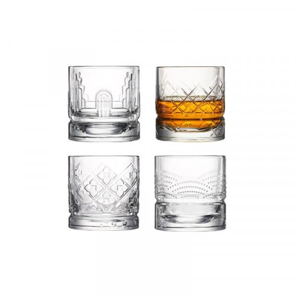 Szklanki do whiskey 300 ml 4 szt.