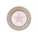 Talerz deserowy Big Star jasnobrązowy