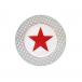 Talerz deserowy Big Star jasnoszary