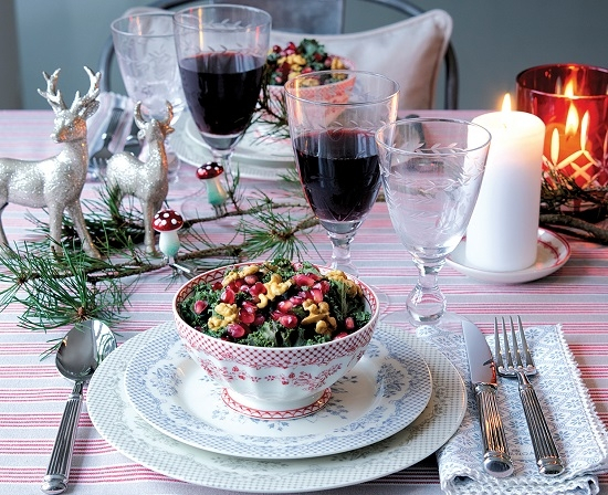 Nakrycie stołu na Święta