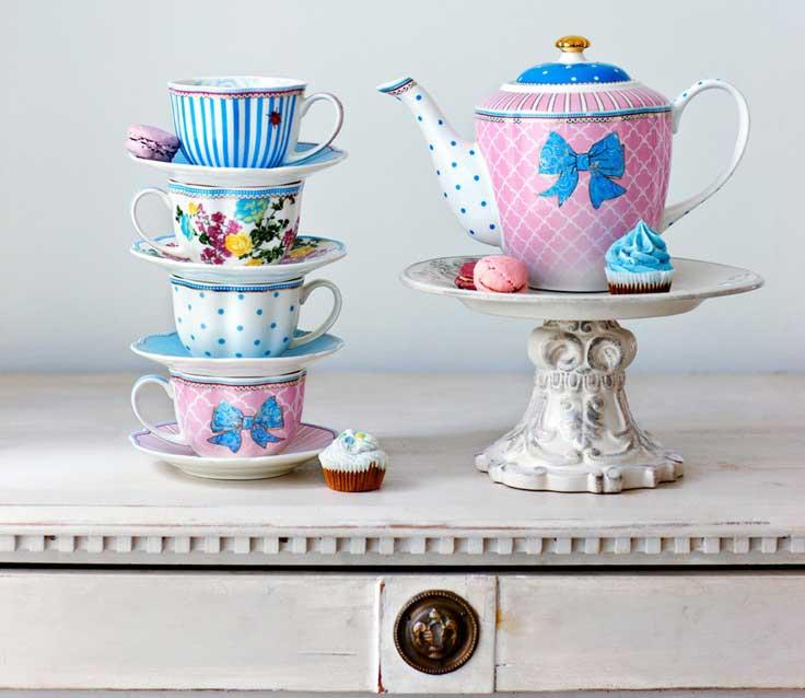 Kolekcja porcelany z Danii Bowie