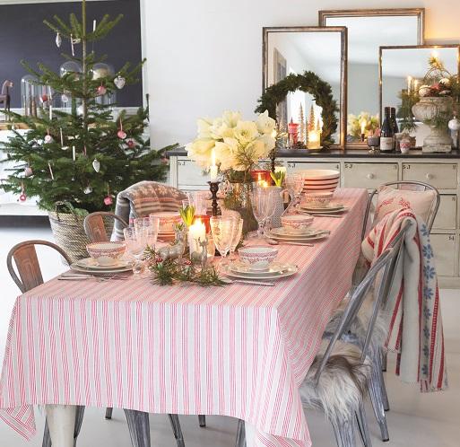 Świąteczna zastawa stołowa